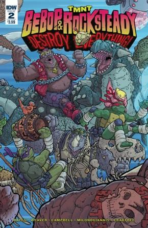 Teenage Mutant Ninja Turtles Bebop and Rocksteady Destroy Everything #2