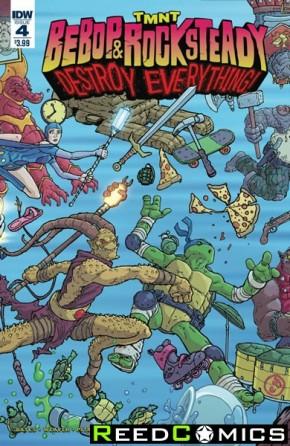 Teenage Mutant Ninja Turtles Bebop and Rocksteady Destroy Everything #4
