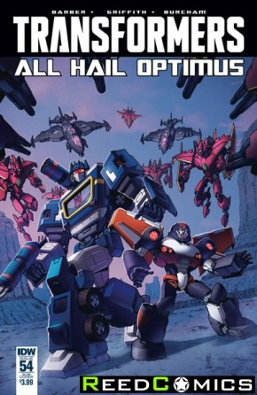 Transformers #54 (Subscription Variant Cover)