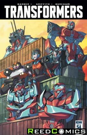 Transformers #54 (1 in 10 Incentive Variant Cover)