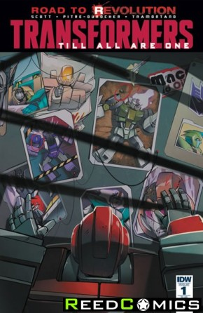 Transformers Til All Are One #1 (Subscription Variant Cover)