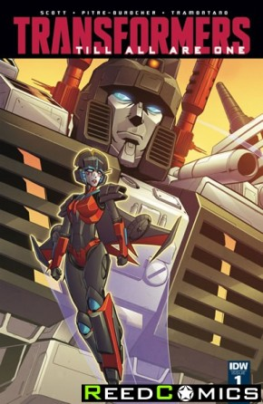 Transformers Til All Are One #1 (1 in 10 Incentive Variant Cover)