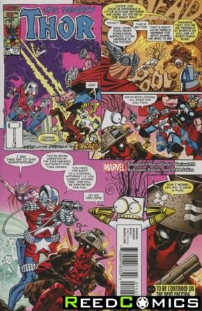 Deadpool Volume 5 #14 (Koblish Secret Comic Variant Cover)