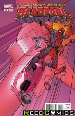 Deadpool Volume 5 #14 (Civil War Reenactment Variant Cover)