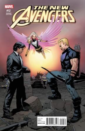 New Avengers Volume 4 #12 (Civil War Reenactment Variant Cover)