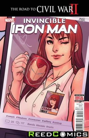 Invincible Iron Man Volume 2 #10