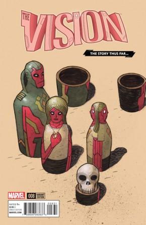 Vision #8 (Walta Story Thus Far)