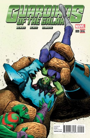 Guardians of the Galaxy Volume 4 #9