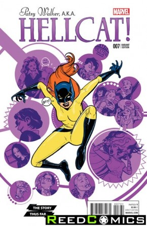 Patsy Walker AKA Hellcat #7 (Story Thus Far Variant Cover)