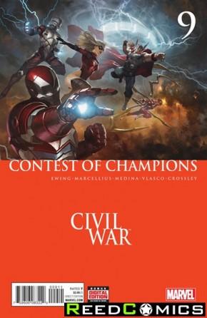 Contest of Champions Volume 3 #9