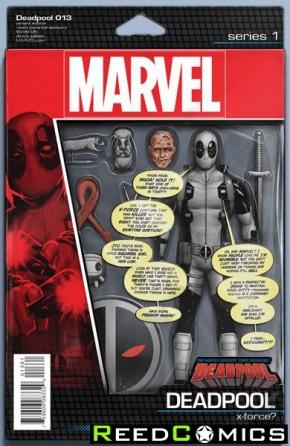 Deadpool Volume 5 #13 (Christopher Action Figure Variant Cover)