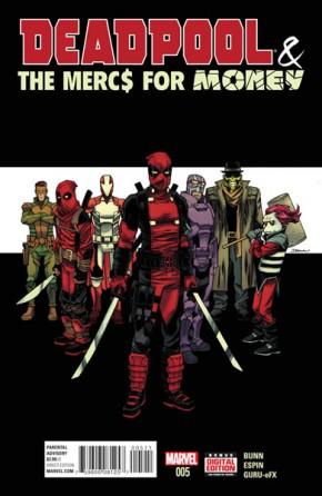 Deadpool Mercs for Money #5