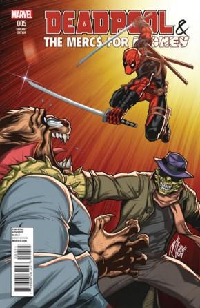 Deadpool Mercs for Money #5 (Lim Variant Cover)