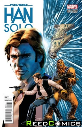Star Wars Han Solo #1 (Cassaday 1 in 50 Incentive Variant Cover)