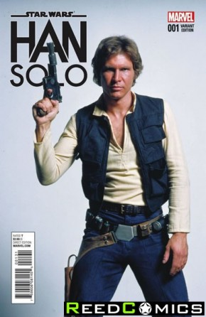 Star Wars Han Solo #1 (Movie 1 in 15 Incentive Variant Cover)