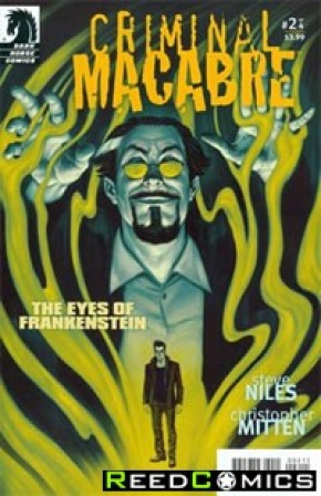Criminal Macabre Eyes of Frankenstein #2