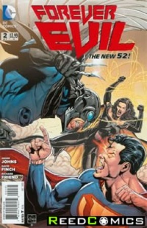 Forever Evil #2 (1 in 25 Incentive Variant Cover B)