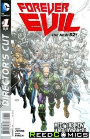 Forever Evil #1 Directors Cut