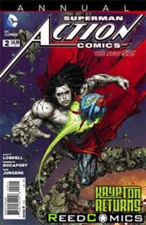 Action Comics Volume 2 Annual #2