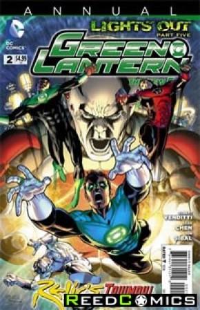 Green Lantern Volume 5 Annual #2