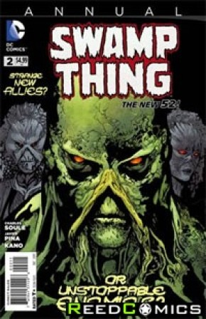 Swamp Thing Volume 5 Annual #2