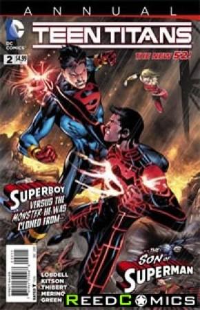 Teen Titans Volume 4 Annual #2