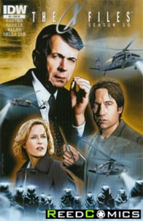 X-Files Season 10 #5 (1 in 10 Incentive Variant Cover)