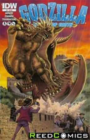 Godzilla Rulers of the Earth #5