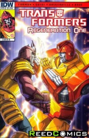 Transformers Regeneration One #95 (Cover A)