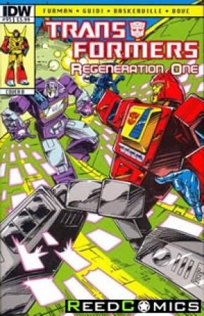 Transformers Regeneration One #95 (Cover B)