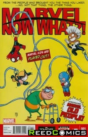 Marvel Now What One Shot