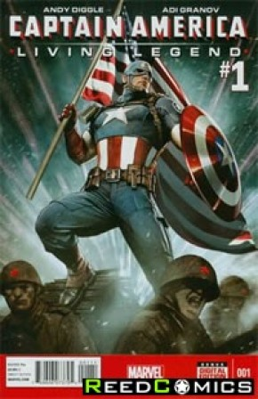 Captain America Living Legend #1