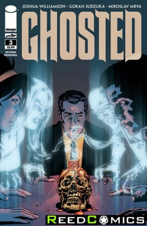 Ghosted #3 (2nd Print)