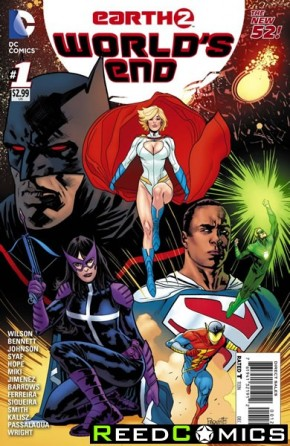 Earth 2 Worlds End #1 (1 in 50 Incentive Variant Cover)