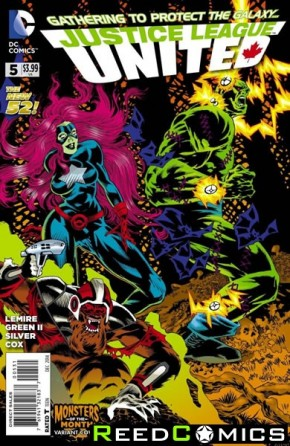 Justice League United #5 (Monsters Variant Edition)