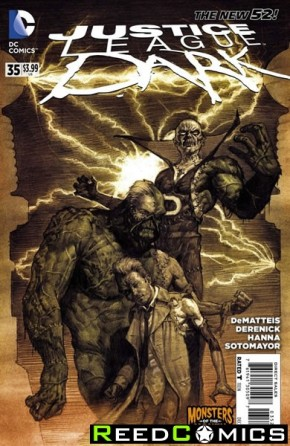 Justice League Dark #35 (Monsters Variant Edition)
