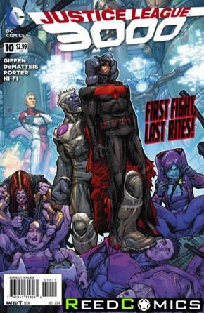 Justice League 3000 #10