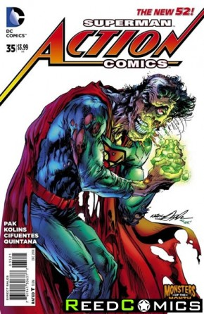 Action Comics Volume 2 #35 (Monsters Variant Edition)