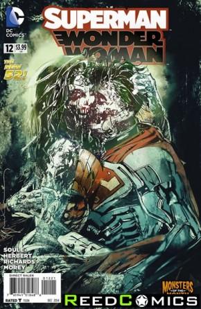 Superman Wonder Woman #12 (Monsters Variant Edition)