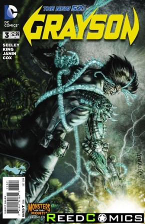 Grayson #3 (Monsters Variant Edition)