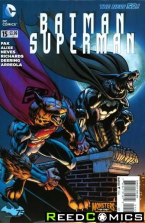 Batman Superman #15 (Monsters Variant Edition)
