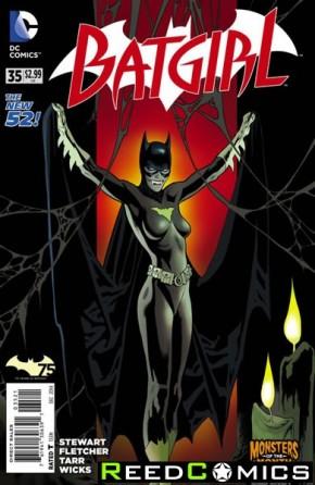 Batgirl Volume 4 #35 (Monsters Variant Edition)
