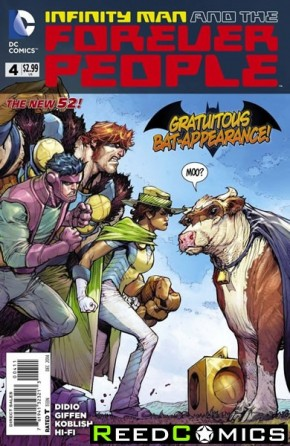 Infinity Man and the Forever People #4