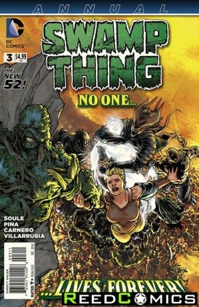 Swamp Thing Volume 5 Annual #3