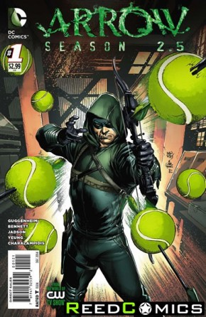 Arrow Season 2.5 #1 (1 in 5 Incentive Variant Cover)