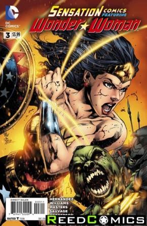 Sensation Comics Featuring Wonder Woman #3