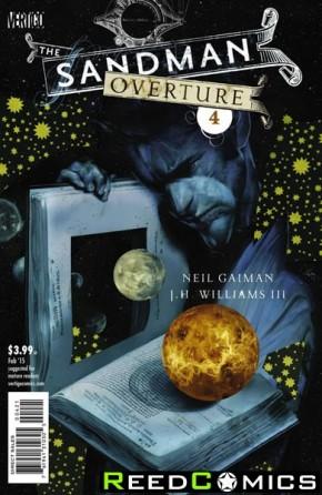 Sandman Overture #4 (Cover B)