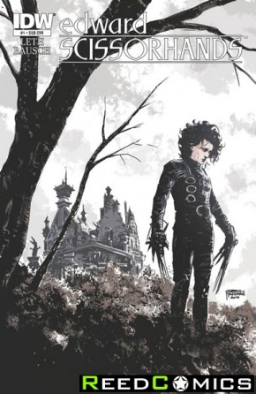 Edward Scissorhands #1 (Subscription Variant Cover)