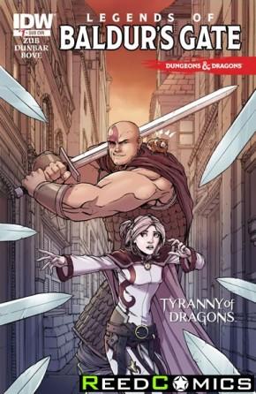 Dungeons and Dragons Legends of Baldurs Gate #1 (Subscription Variant)