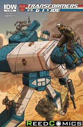 Transformers vs GI Joe #4 (Subscription Cover Variant)